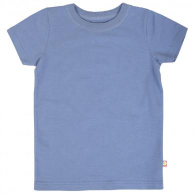Katvig T-shirt i økologisk bomuld. Blå.