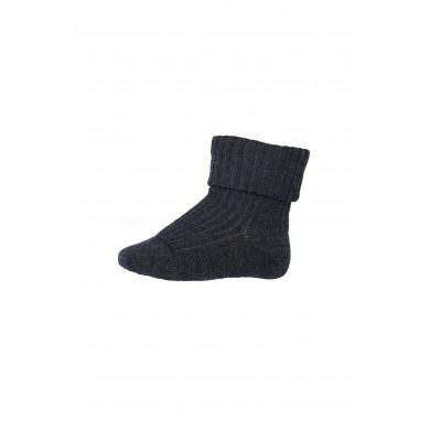 MP Strømper i Merino uld - Mørkegrå