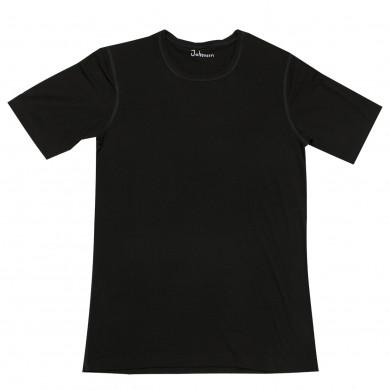 Joha herre T-Shirt i viscose. Johansen. Sort.