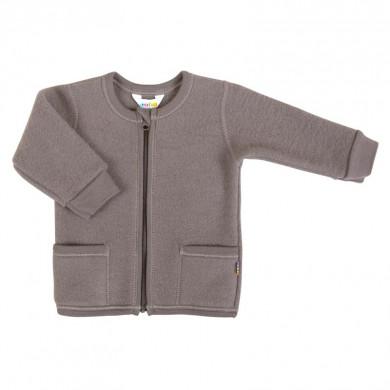 Joha cardigan i Soft Wool. 100% merinould -Brun.