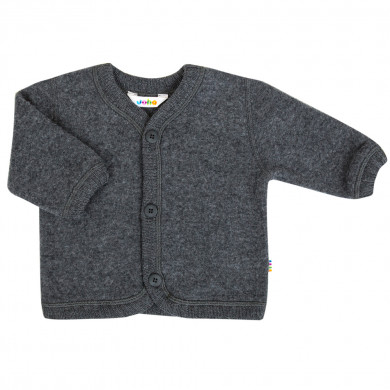 Joha Soft Wool cardigan. Koksgrå.