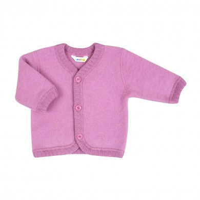 Joha Soft Wool cardigan. Rosa.