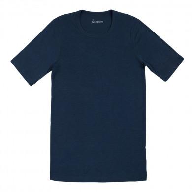 Joha herre T-Shirt i 100% uld. Johansen. Blå.