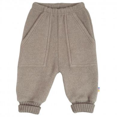 Joha Soft Wool bukser. Brun meleret.