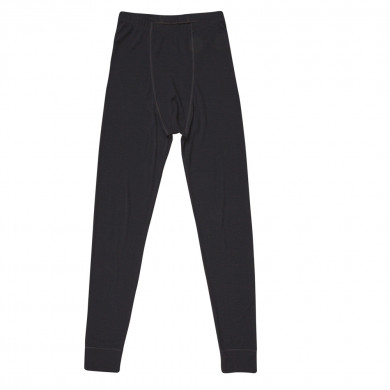 Joha herre leggings i 100% uld. Johansen. Sort.
