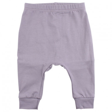 Fixoni baggy bukser i økologisk bomuld. Lilla.