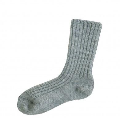 Joha uld sokker i 90% merinould. Lyseblå