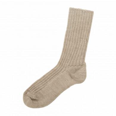 Joha uld sokker i 90% merinould. Beige melange