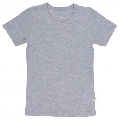 Joha T-Shirt i 100% uld. Grå.