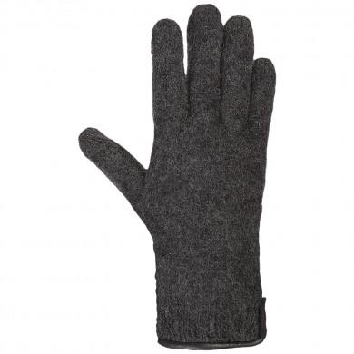 Pure Pure Dame finger vanter. Mørkegrå.