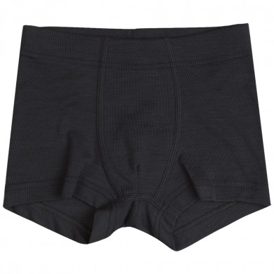 Joha boxer shorts i uld-silke. Sort.