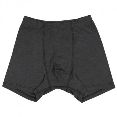 Joha herre boxer shorts i uld-silke. Johansen. Koksgrå.