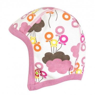Katvig hjelm i 100% økologisk bomuld. Pige skyballon.