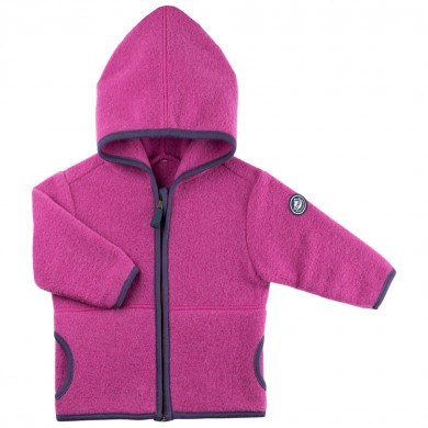 Pure Pure baby uld jakke. Varm Magenta