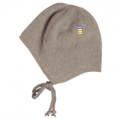 Joha soft wool hjelm. Brun melange.