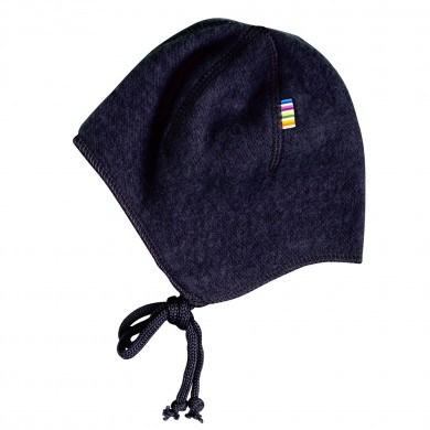 Joha soft wool hjelm. Mørkeblå.