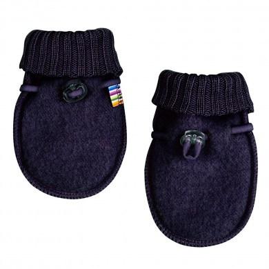 Joha soft wool luffer. Mørkeblå.