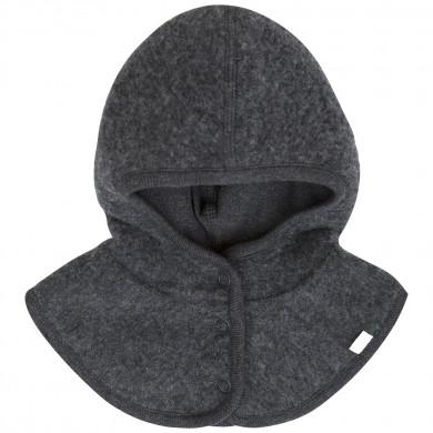 Joha soft wool elefanthue m-windbreaker. Koksgrå.
