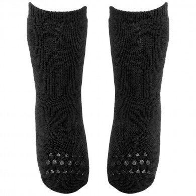 GoBabyGo skridsikre sokker i bomuld. Sort.