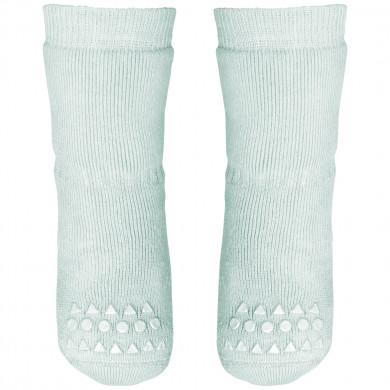 GoBabyGo Skridsikre sokker i bomuld. Mint grøn.