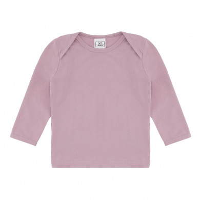 DÉT DENMARK bluse i økologisk bomuld. Støvet rosa.