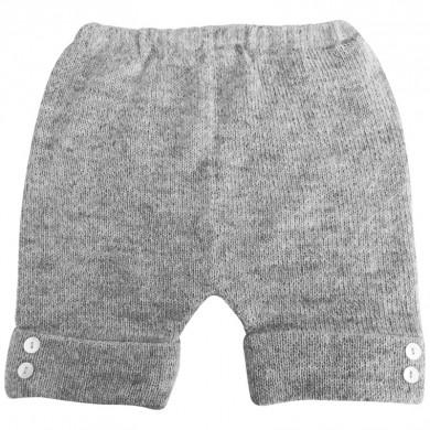 Huttelihut Bolivia shorts. Lys grå meleret.