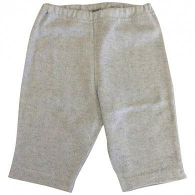 Selana bukser i økologisk bomuld og kashmir. Blå.