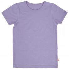 Katvig T-Shirt i økologisk bomuld. Lilla.