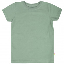 Katvig T-shirt i økologisk bomuld. Grøn.