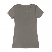 Joha dame T-Shirt i uld-silke. Sara. Brun.