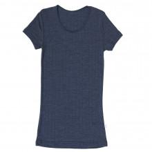Joha dame T-Shirt i uld-silke. Emily. Marine.