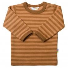 Joha Bluse Uld - Copper Stripe