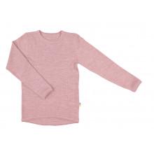 Joha bluse i 100% uld - Gammel Rosa