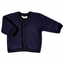 Joha soft wool cardigan. Mørkeblå.