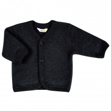 Joha soft wool cardigan. Sort.