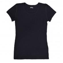 Joha dame T-Shirt i 100% uld. Marie. Sort.