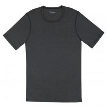 Joha herre T-Shirt i uld-silke. Johansen. Sort.