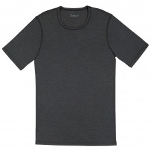 Joha herre T-shirt i uld-silke. Johansen. Koksgrå.