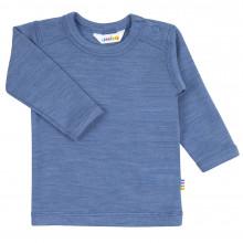 Joha bluse i 95% uld. Blå.