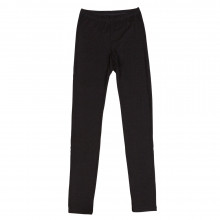 Joha dame leggings i uld-silke. Sara. Sort.