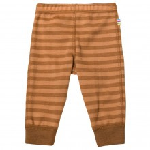 Joha Leggings Uld - Copper Stripe