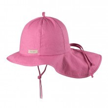 Pure Pure baby solhat med UV filter. Støvet Pink.