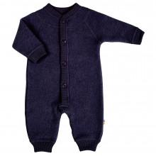 Joha soft wool barnevognsdragt. Mørkeblå.