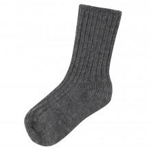 Joha uld sokker i 90% merinould. Koksgrå.