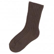Joha uld sokker i 90% merinould. Brune.