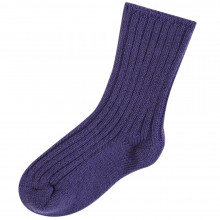 Joha uld sokker i 90% merinould. Lilla.