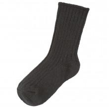 Joha uld sokker i 90% merinould. Sort.
