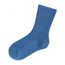 Joha uld sokker i 90% merinould. Blå.