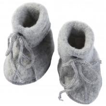 Engel baby fleece futter i 100% merinould. Grå.