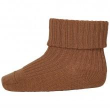 Mp-Danmark uld sokker med ombuk. Karry.
